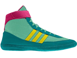 купить борцовки Adidas Combat Speed 4 Emerald/Pink