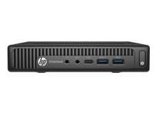 HP EliteDesk 800 G2 Mini Core i5-6500T,4GB DDR4-2133 (1x4GB),500GB 8G SSHD,Intel Unite GR,USB kbd/mouse,Intel 802.11ac BT V Professional,Mini HDMI,Win10 Professional(64-bit),3-3-3 Wty Y4U22EA