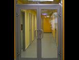 Алюминиевые двери (цена указана за однопольную дверь)