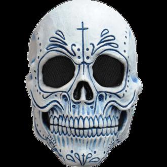 череп, маска, латексная, скелет, калавера, катрина, calavera, роспись, страшная, латекс, ужасная