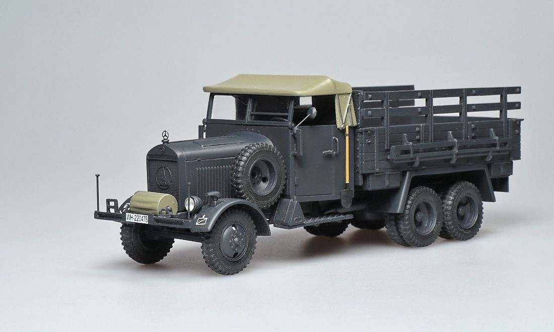 Mercedes-Benz LG3000 (LG63) 1935-1938. ALF for ER-models