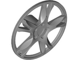 Wheel Cover 5 Spoke Thick - for Wheel 56145, Flat Silver (85969 / 4617729)