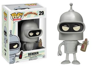 Фигурка Funko POP! Vinyl: Futurama: Bender