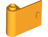 Door 1 x 3 x 2 Left - Open Between Top and Bottom Hinge (New Type), Bright Light Orange (92262 / 6186645)