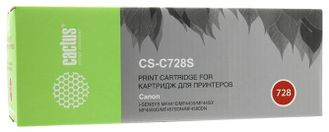 CACTUS Cartridge 728S Картридж (CS-C728S) для Canon Laser Base MF4410/4430/4450/4550/4570/4580