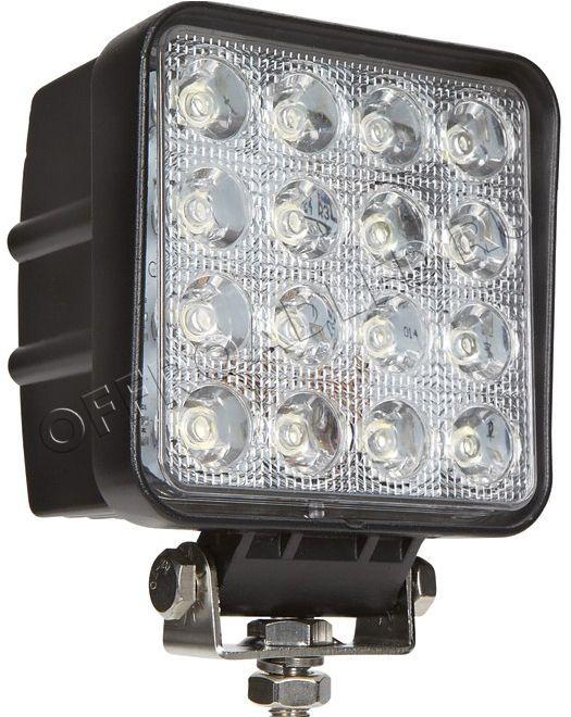 Квадратная светодиодная фара рабочего света 48W