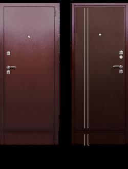 Входная дверь Берлога Скала-1 Вертикаль
