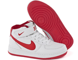 Кроссовки Nike Air Force 1 Mid White Red