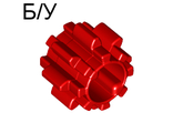 ! Б/У - Technic, Gear 8 Tooth with Dual Face without Friction, Red (11955 / 6036545) - Б/У