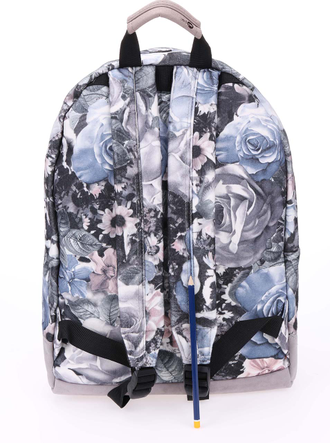 Рюкзак Mi Pac Premium Floral Felt Winter Light Grey