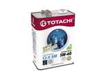 Масло моторное Premium Diesel Fully Synthetic CJ-4/SM 5W-40 4л. TOTACHI