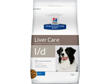 Hill's Prescription Diet l/d Canine при заболеваниях печени