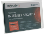 Карта Kaspersky Anti-Virus 2015 Russian Edition. 3-Desktop 1 year KL1941ROCFR