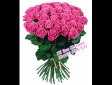 Букет из 31 розы Розовый рассвет