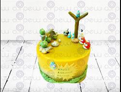"""Торт № 11 """"Angry Birds 3"""" (Детские торты)"""