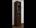 Шкаф для книг с тумбой витраж ШкКн(1)№3