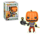 Фигурка Funko POP! Vinyl: Games: Hello Neighbor: Pumpkin Head GITD (Эксклюзив)