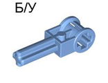 ! Б/У - Technic Pole Reverser Handle, Medium Blue (6553 / 4144290) - Б/У