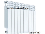 Алюминиевый радиатор AQUAPROM A30 500/70 10 секций