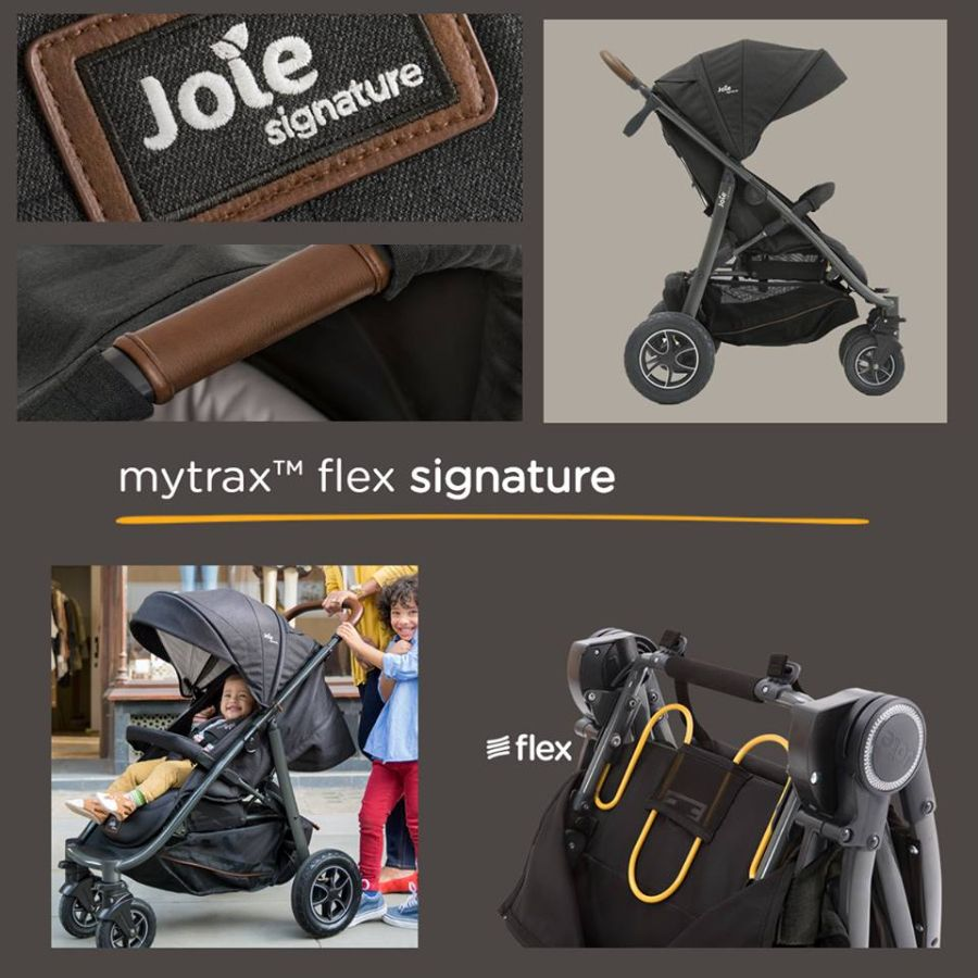 Joie mytrax™ flex signature прогулочная коляска премиум класса