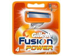 Gillette FUSION Power 4 шт.