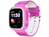 Smart Baby Watch (G72) с wi fi розовый