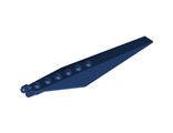 Hinge Plate 3 x 12 with Angled Side Extensions and Tapered Ends, Dark Blue (57906 / 4500106 / 6082417)