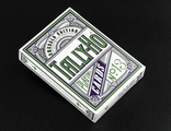 Emerald Tally-Ho Limited Edition White SILVER Foil Gilded Edges