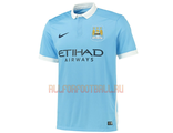Манчестер Сити домашняя футболка 2015-2016 Manchester City FC Home Kit 2015-2016