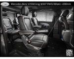 Various luxury elongated and armored VANs based on Mercedes-Benz V250d/300d  W447 4Matic L and EL / Mercedes-Benz Vito Tourer 119 BlueTec 4Matic L, 2019-2020 YP