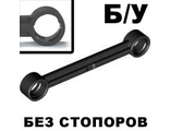 ! Б/У - Technic, Link 1 x 6 without Stoppers, Black (2739a / 4629921) - Б/У