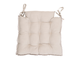Подушка на стул 200556 SQUARE CHAIR PAD SOLENE BEIGE 40X40CM COTTON+LINEN