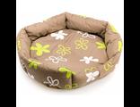 COMFY Лежанка для собак VANESSA LIGHT М (50х50х13 см) хаки