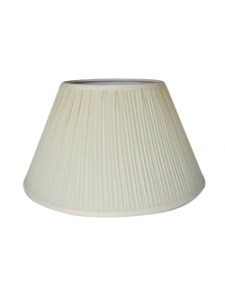 Абажур 3200 LAMP SHADE PLEATED LESUNIS IVORY D45XH26CM COTTON