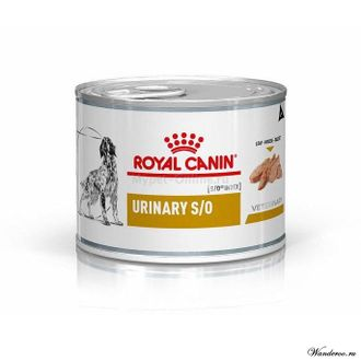 Royal Canin Urinary S/O Роял Канин Уринари консервы для собак при мочекаменной болезни, 0,2 кг