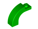 Brick, Arch 1 x 3 x 2 Curved Top, Green (6005 / 4239049 / 4583768 / 4644085)