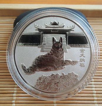 Монета для оберега дома и семейного благополучия на год (золото/серебро в асс)