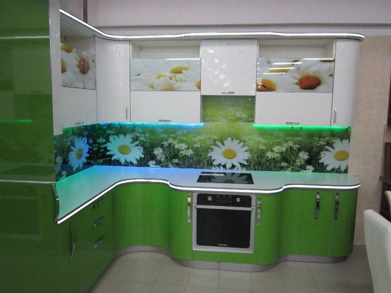 Кухни пластиковые с рисунком цены 2