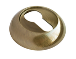 Накладка на ключевой цилиндр RUCETTI RAP KH AB Цвет Античная бронза