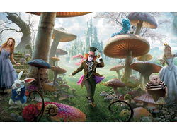 Тетради и Блокноты Алиса в стране чудес, Alice in the Wonderland