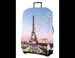 "Чехол для чемодана ""Париж"". Размер M"