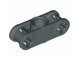 Technic, Axle and Pin Connector Perpendicular 3L with Center Pin Hole, Dark Bluish Gray (32184 / 32184199 / 4210810 / 6160219)