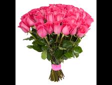 Букет Софиты 27 розовых роз