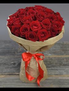 Букет из 25 роз Рэд Наоми