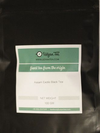 Assam Exotic Black Tea 100gr