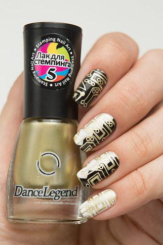 Dance Legend - Stamping 05 — Gold