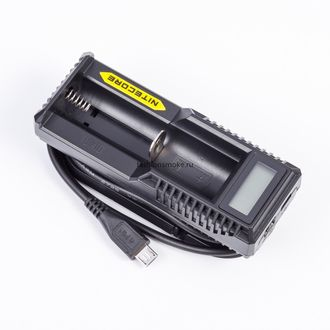 Nitecore UM10 зарядка на один аккумулятор