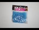 Резиночки синие в виде 8 (восьмерочки) 600 шт
