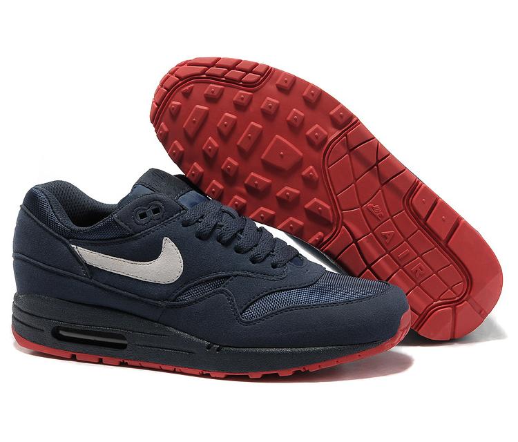 65354832cf54 Кроссовки Nike Air Max 87 мужские сине-красные