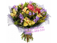 Букет из Орхидеи и роз